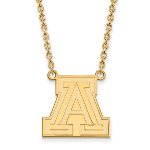 10ky LogoArt University of Arizona Large Pendant w/Necklace