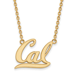10ky LogoArt University of California Berkeley Large Pendant w/Necklace