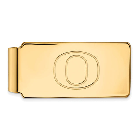 10ky LogoArt University of Oregon Money Clip