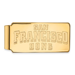 10ky LogoArt University of San Francisco Money Clip