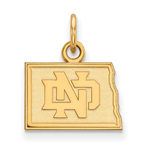 10ky LogoArt University of North Dakota XS Pendant