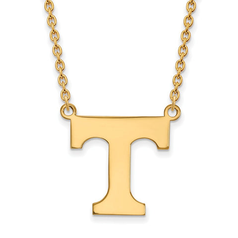 10ky LogoArt University of Tennessee Large Pendant w/Necklace
