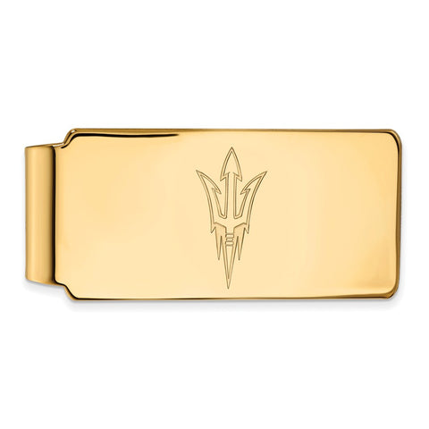 10ky LogoArt Arizona State University Money Clip