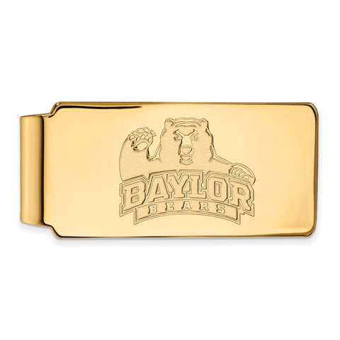 10ky LogoArt Baylor University Money Clip
