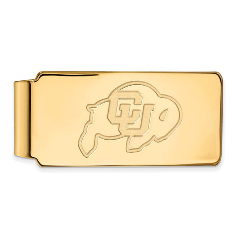10ky LogoArt University of Colorado Money Clip