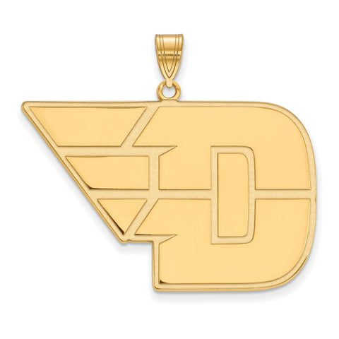 14ky LogoArt University of Dayton XL Pendant