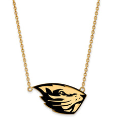 GP Oregon State University Large Enamel Pendant w/Necklace