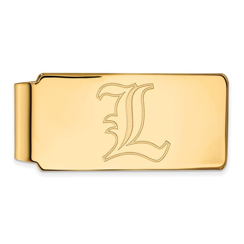 10ky LogoArt University of Louisville Money Clip