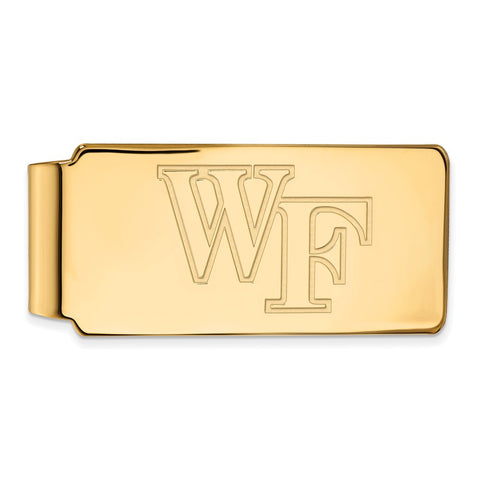 10ky LogoArt Wake Forest University Money Clip