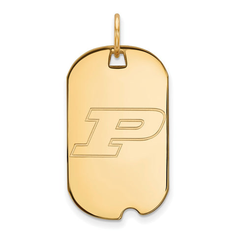 10ky LogoArt Purdue University Small Dog Tag
