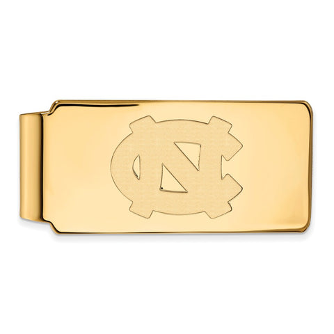 10ky LogoArt University of North Carolina Money Clip