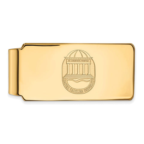 10ky LogoArt Coastal Carolina University Money Clip Crest