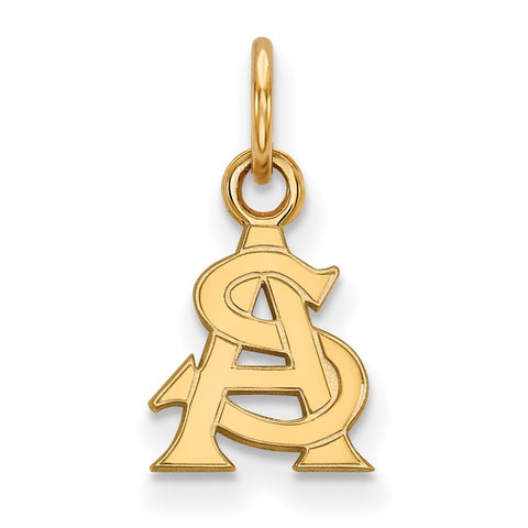 10ky LogoArt Arizona State University XS Pendant