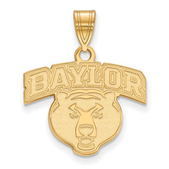 10ky LogoArt Baylor University Medium Pendant