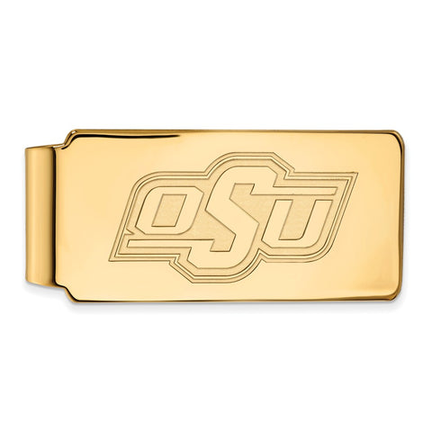 10ky LogoArt Oklahoma State University Money Clip