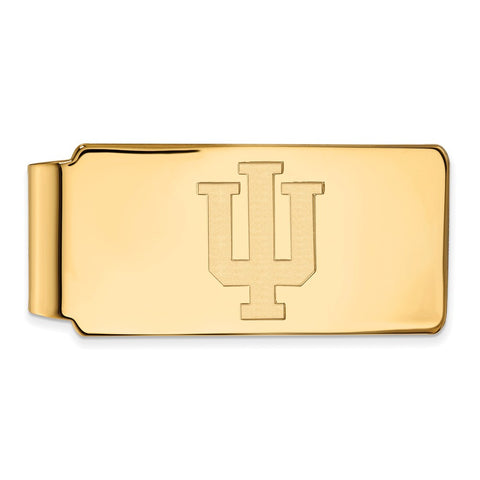 10ky LogoArt Indiana University Money Clip