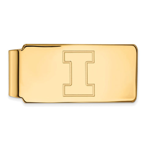 10ky LogoArt University of Illinois Money Clip