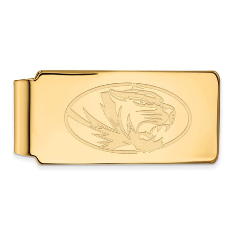 10ky LogoArt University of Missouri Money Clip