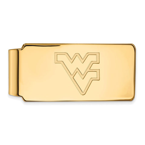10ky LogoArt West Virginia University Money Clip