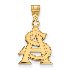 10ky LogoArt Arizona State University Medium Pendant