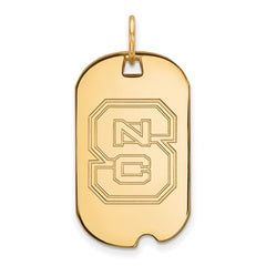 10ky LogoArt North Carolina State University Small Dog Tag