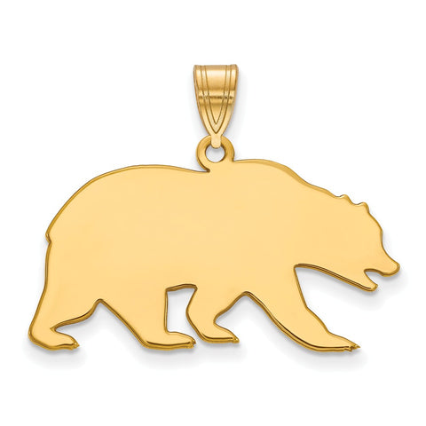 10ky LogoArt University of California Berkeley Large Pendant