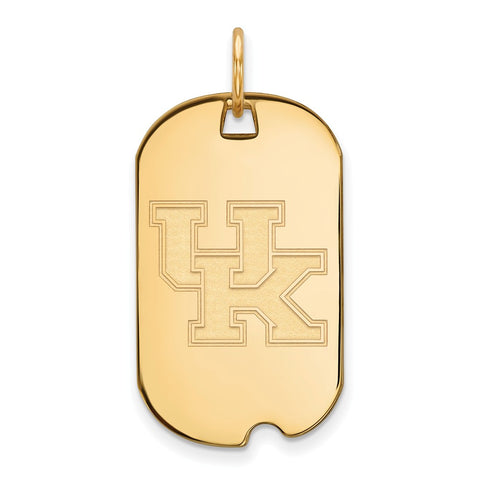 10ky LogoArt University of Kentucky Small Dog Tag