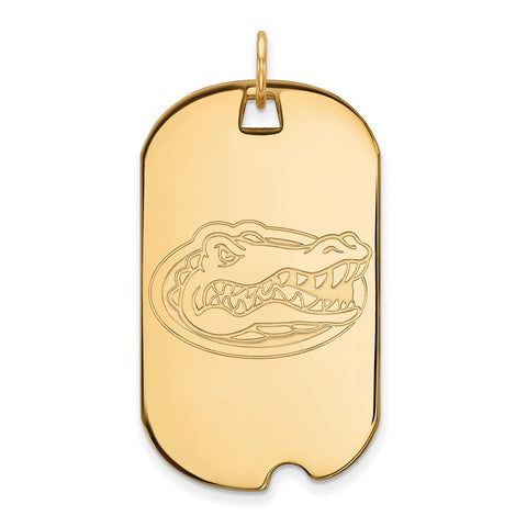 10ky LogoArt University of Florida Large Dog Tag