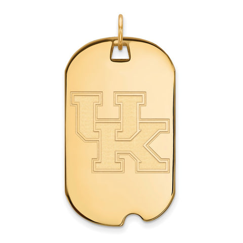 10ky LogoArt University of Kentucky Large Dog Tag