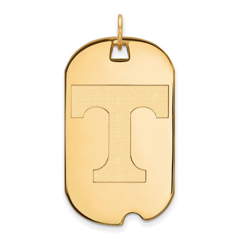 10ky LogoArt University of Tennessee Large Dog Tag