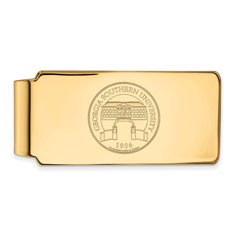 10ky LogoArt Georgia Southern University Crest Money Clip