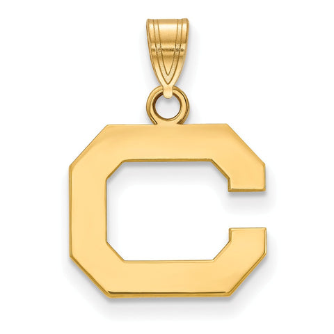 10ky LogoArt University of California Berkeley Small Pendant