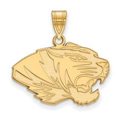 14ky LogoArt University of Missouri Medium Pendant