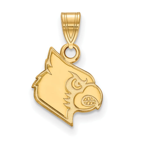 10ky LogoArt University of Louisville Small Pendant