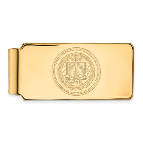 10ky LogoArt University of California Berkeley Money Clip Crest