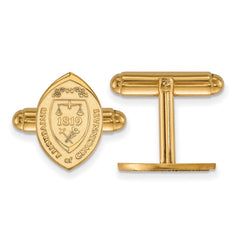 14ky LogoArt University of Cincinnati Crest Cuff Link