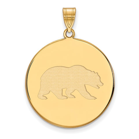 10ky LogoArt University of California Berkeley XL Disc Pendant
