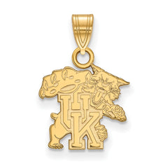 10ky LogoArt University of Kentucky Small Pendant