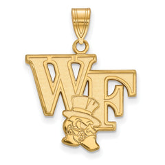 10ky LogoArt Wake Forest University Large Pendant