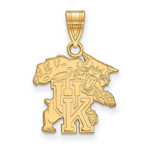 10ky LogoArt University of Kentucky Medium Pendant