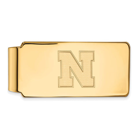 10ky LogoArt University of Nebraska Money Clip