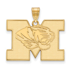 10ky LogoArt University of Missouri Large Pendant