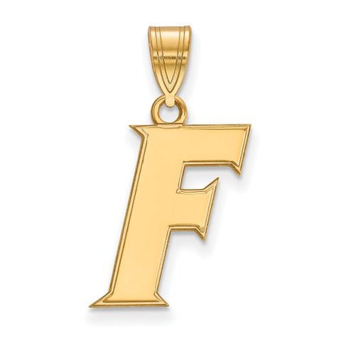 10ky LogoArt University of Florida Medium Pendant