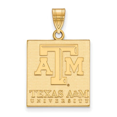 10ky LogoArt Texas A&M University Large Pendant