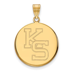 10ky LogoArt Kansas State University Large Pendant