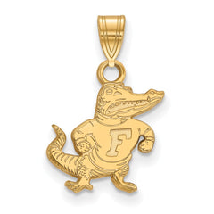 10ky LogoArt University of Florida Small Pendant