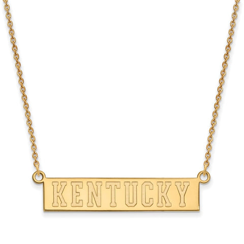 10ky LogoArt University of Kentucky Small Pendant w/Necklace