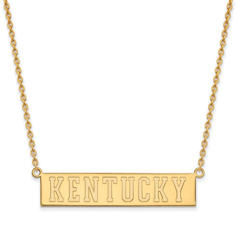 10ky LogoArt University of Kentucky Large Pendant w/Necklace