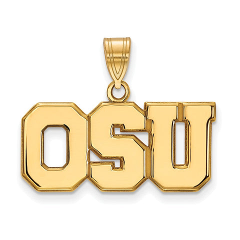 10ky LogoArt Ohio State University Large Pendant
