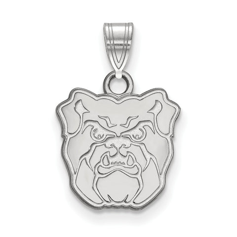 Sterling Silver LogoArt Butler University Small Pendant